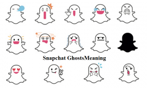 kinds Snapchat Ghosts meaning